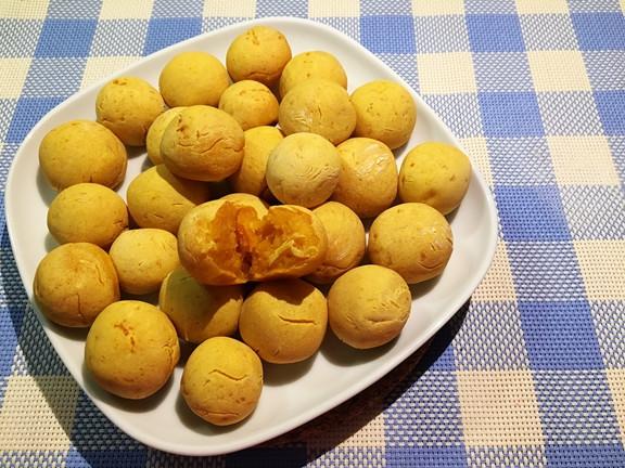 烤箱版地瓜QQ球