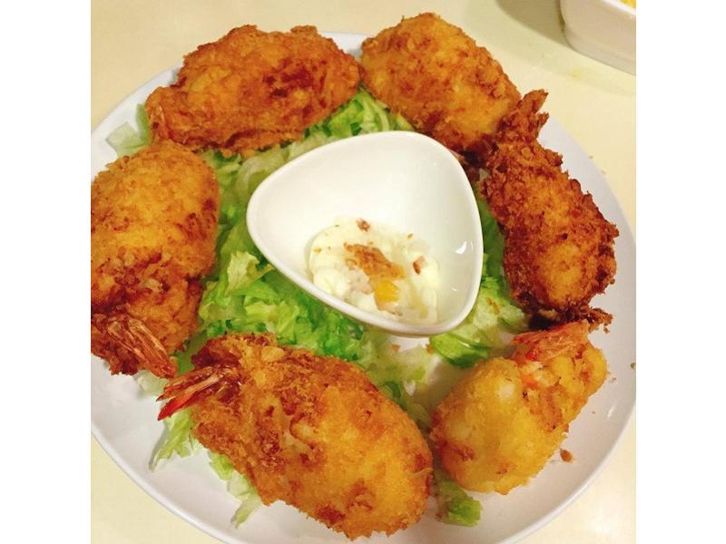 日式馬鈴薯炸蝦