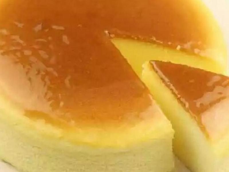 椰奶輕乳酪蛋糕