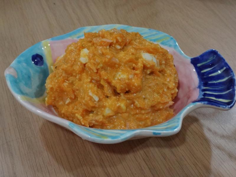 南瓜鮪魚蛋沙拉