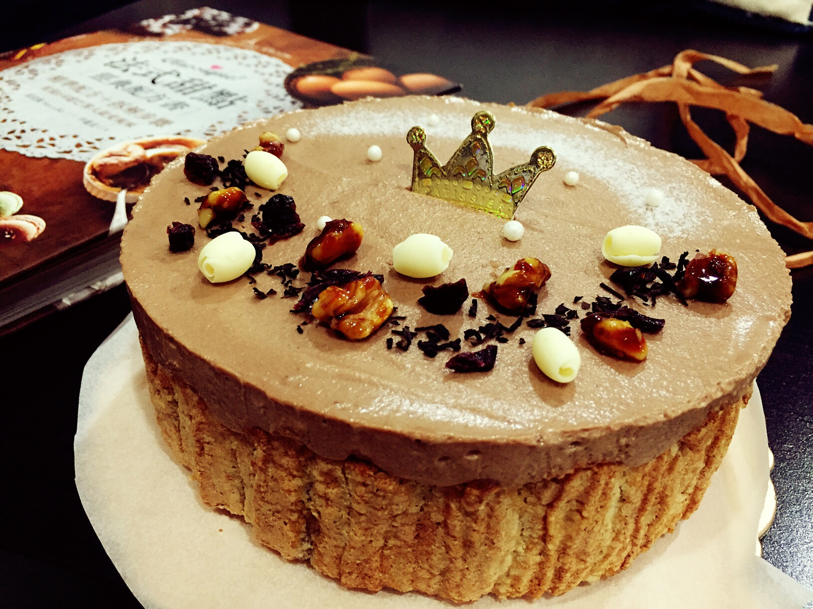 伯爵巧克力慕斯蛋糕