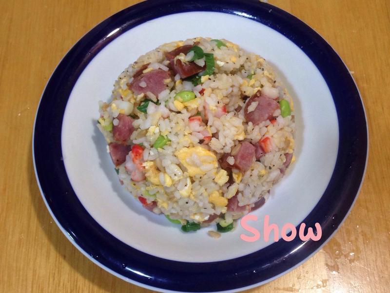 (中元普渡-豬)香腸蛋炒飯