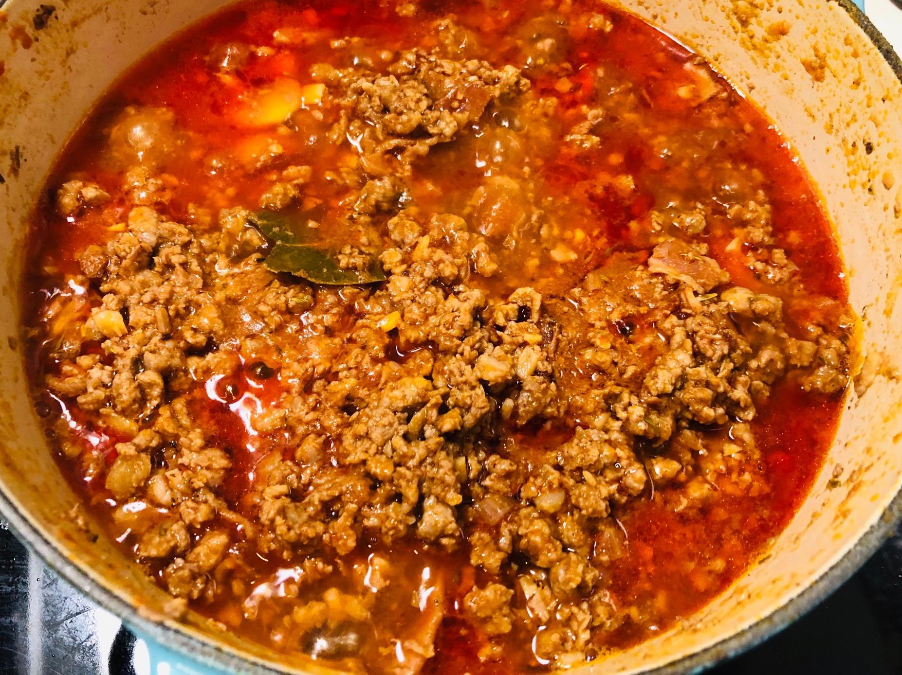 義大利波隆那肉醬-鑄鐵鍋