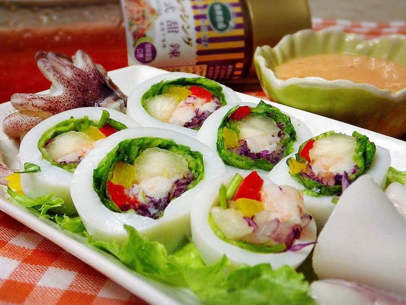 泰式海鮮蔬食捲-健康廚房