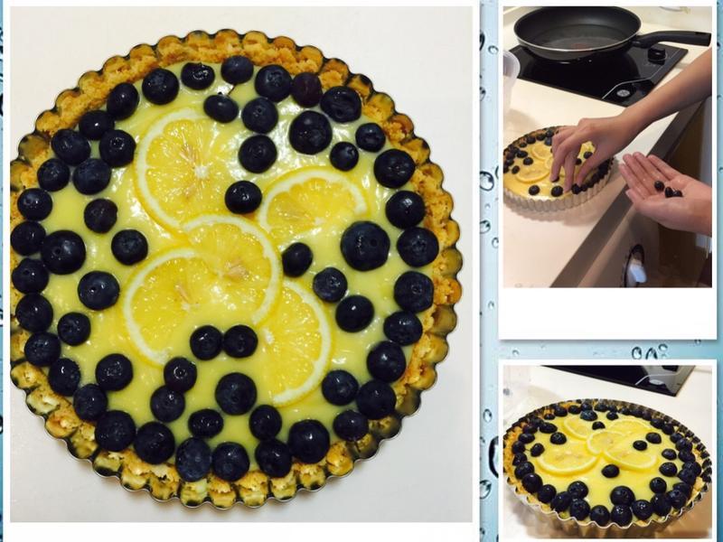 藍莓檸檬塔-免烤箱