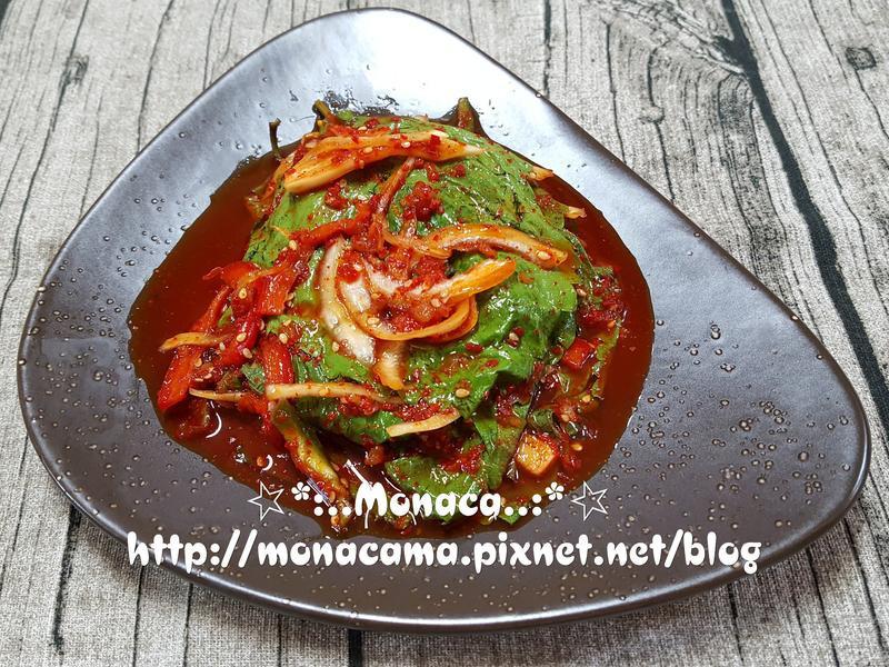 韓式芝麻葉泡菜깻잎김치
