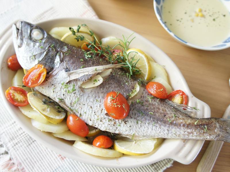 地中海香料烤魚