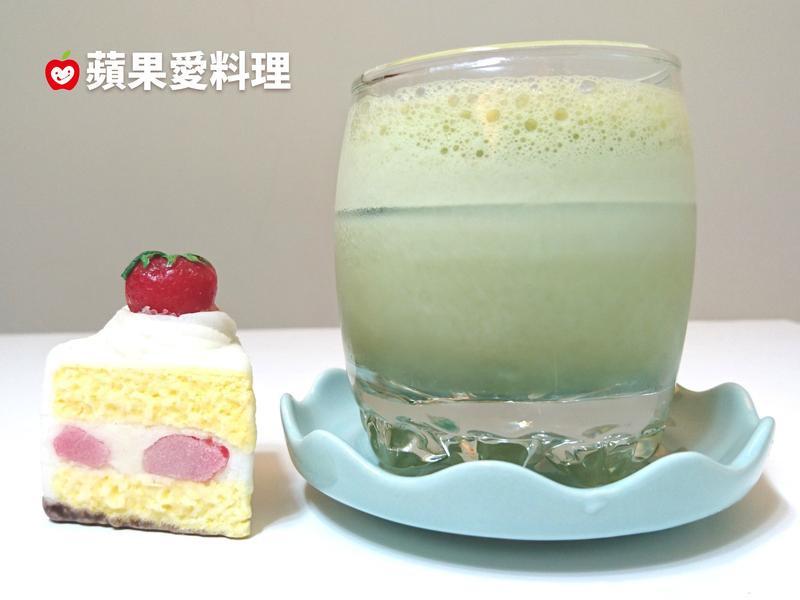抹茶豆漿(15秒。自製手搖飲料)