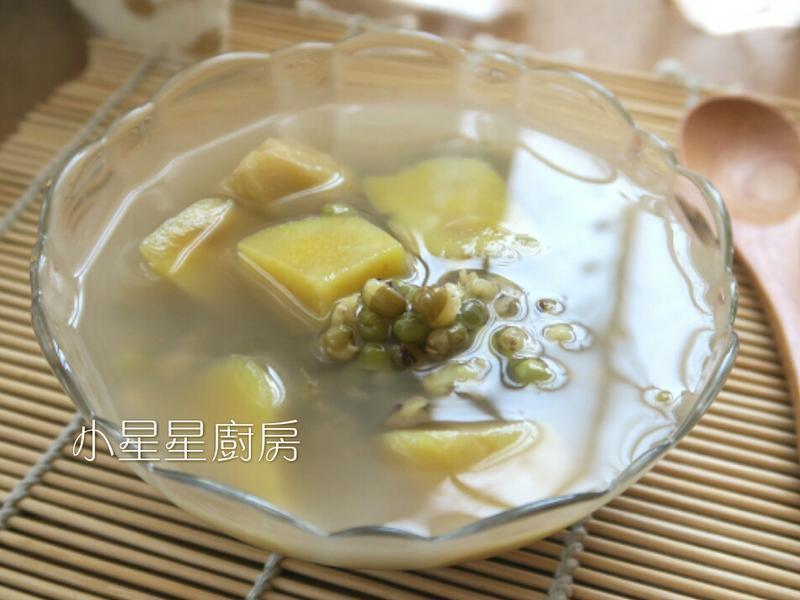 超簡單地瓜綠豆湯,不用顧爐好方便