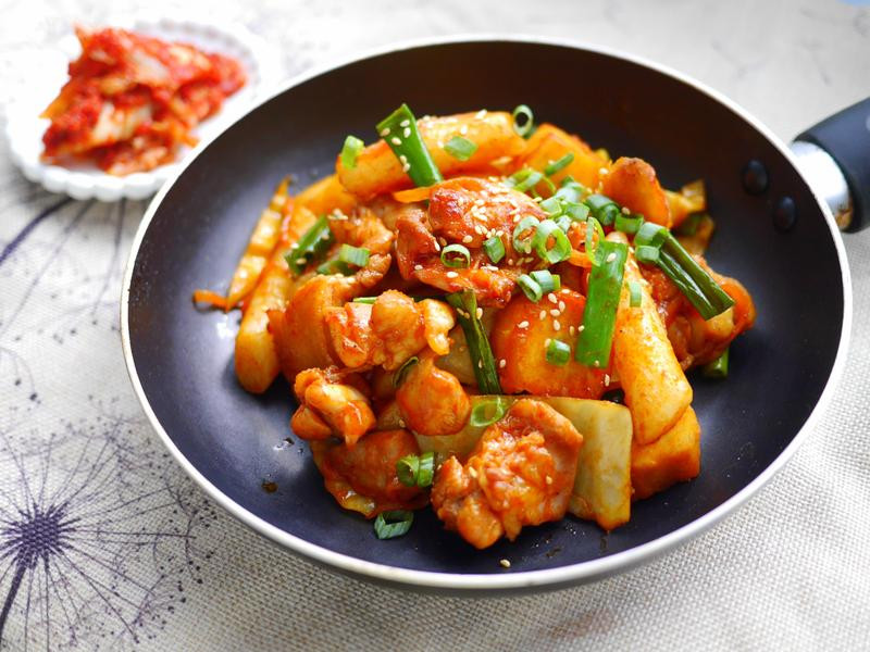 【名菜自己做】韓國春川炒雞