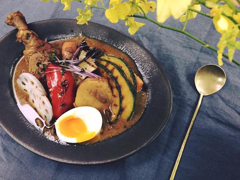 北海道風味燉雞肉野菜湯咖哩