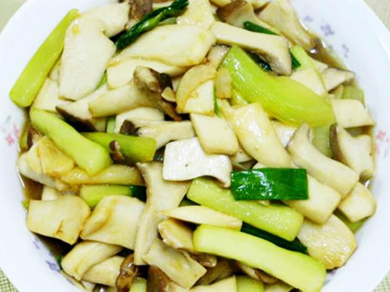 【厚生廚房】翠瓜蠔油鮮菇
