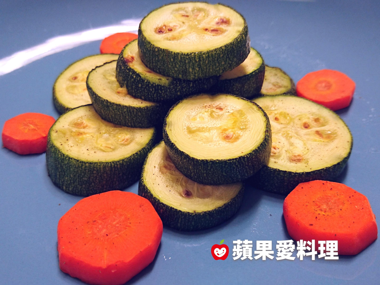 乾煎櫛瓜(10分鐘)