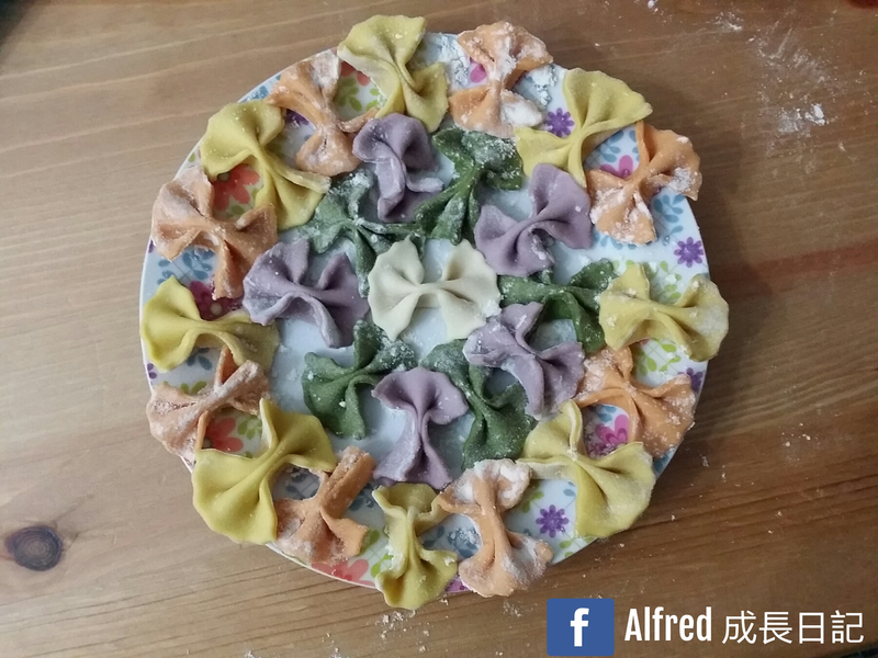 【寶寶食譜】 自製五色蝴蝶粉