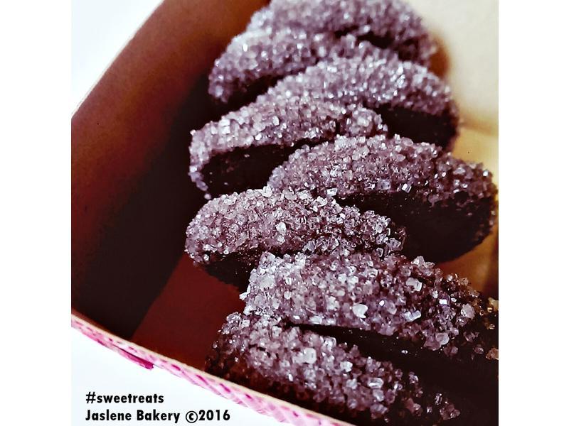 鑽石餅乾 - 法國鹽之花朱古力酥餅