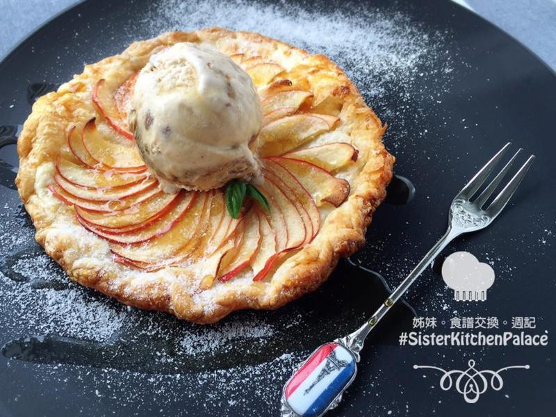 [簡易甜品] 楓糖蘋果撻