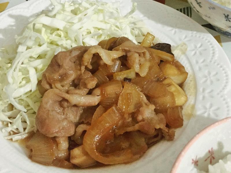 照燒風味洋蔥豬