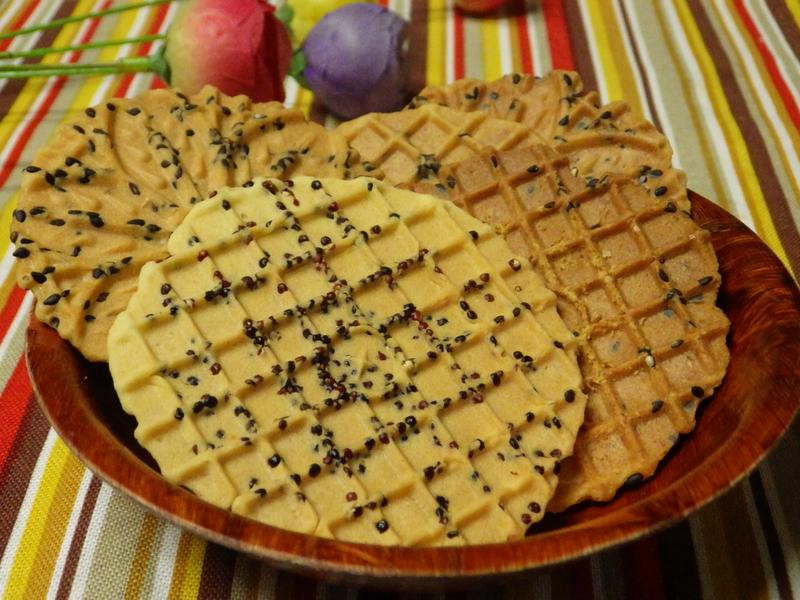 紅藜花生煎餅