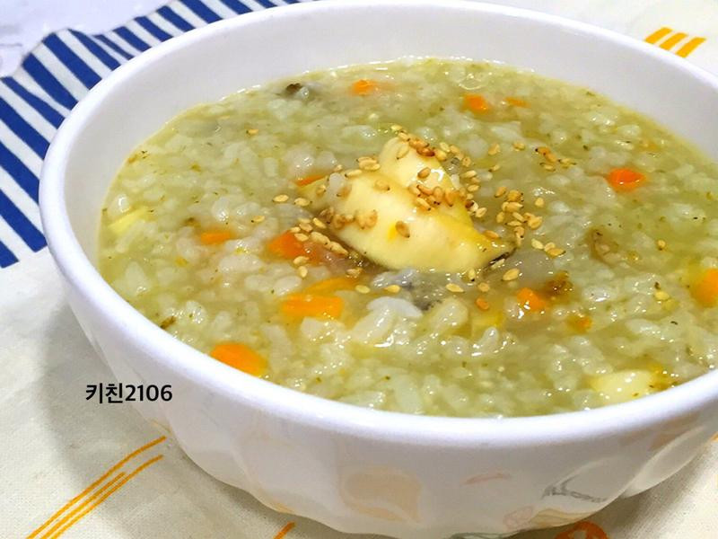 韓式鮑魚粥--전복죽