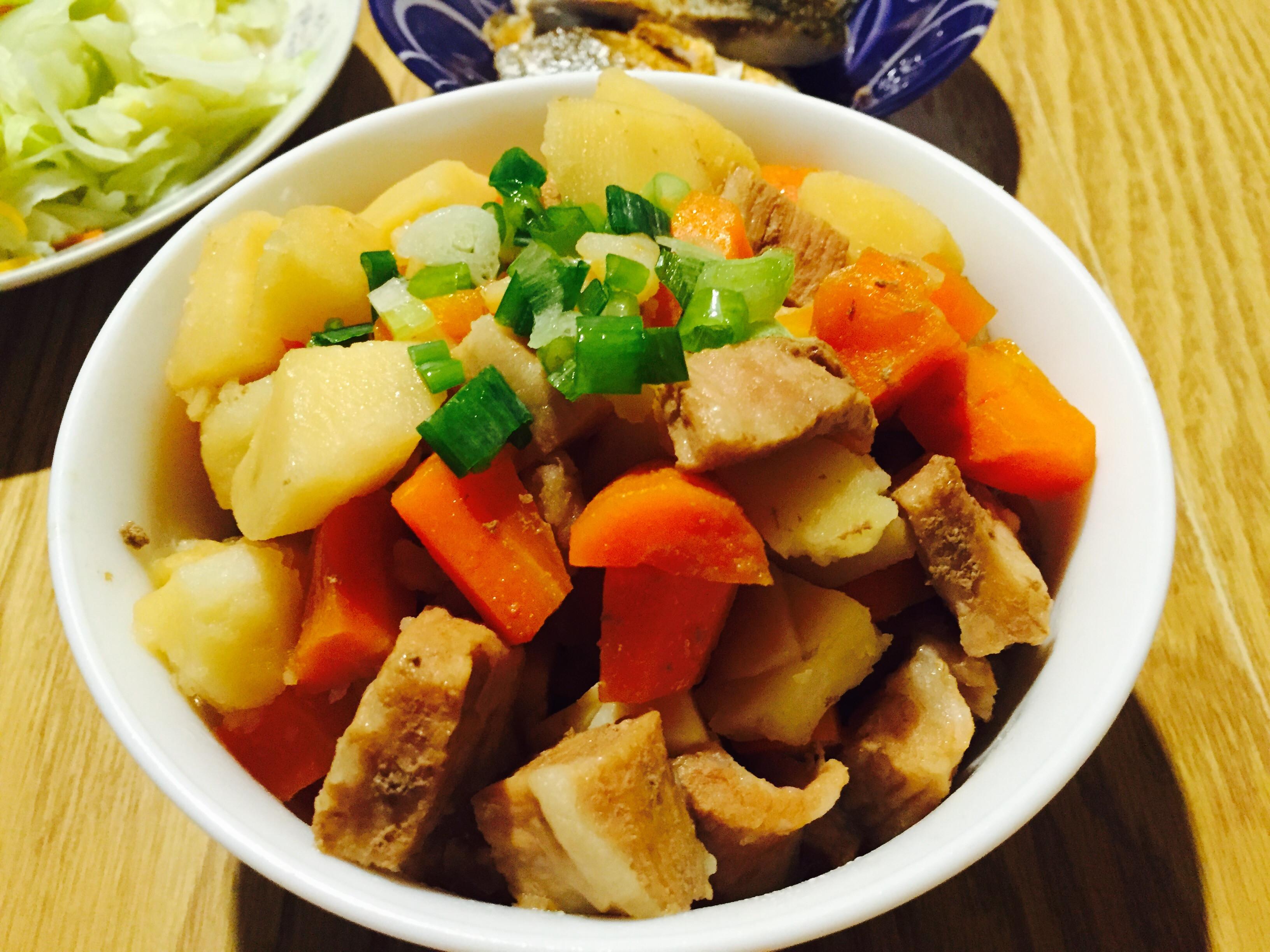 馬鈴薯燉肉(二版)