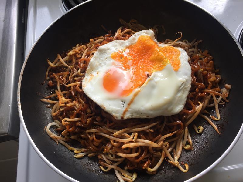 韓式火雞拌麵拌炸醬麵