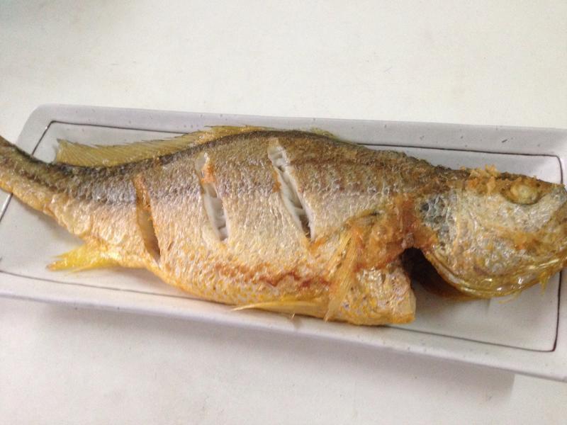 樑香煎黃魚