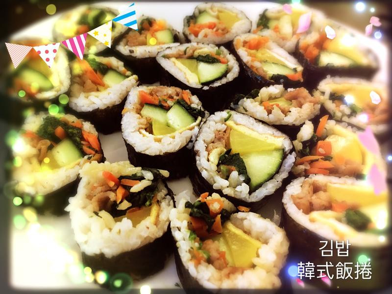 簡單版韓式飯捲