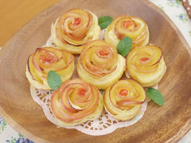 玫瑰蘋果派❤簡單好上手!!