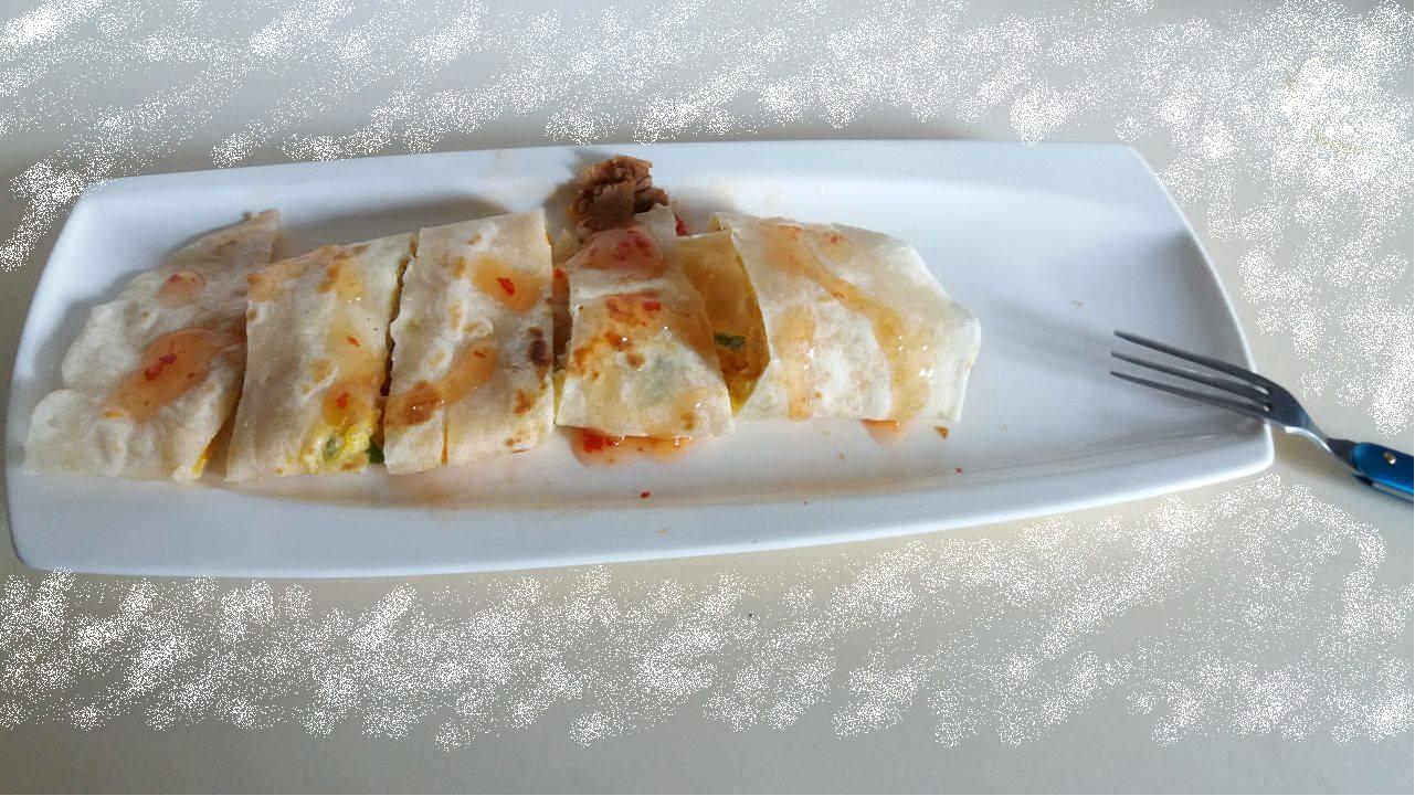 泰式無油肉鬆蛋餅-健康廚房