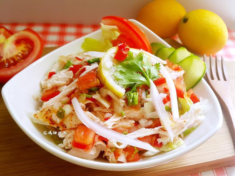 泰式酸辣拌雞絲(健康廚房)