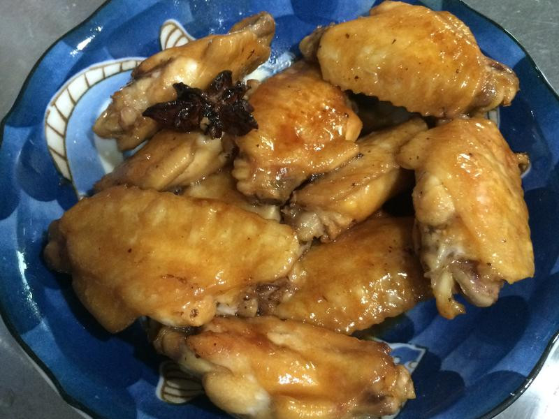 簡單快速的醬煮雞翅
