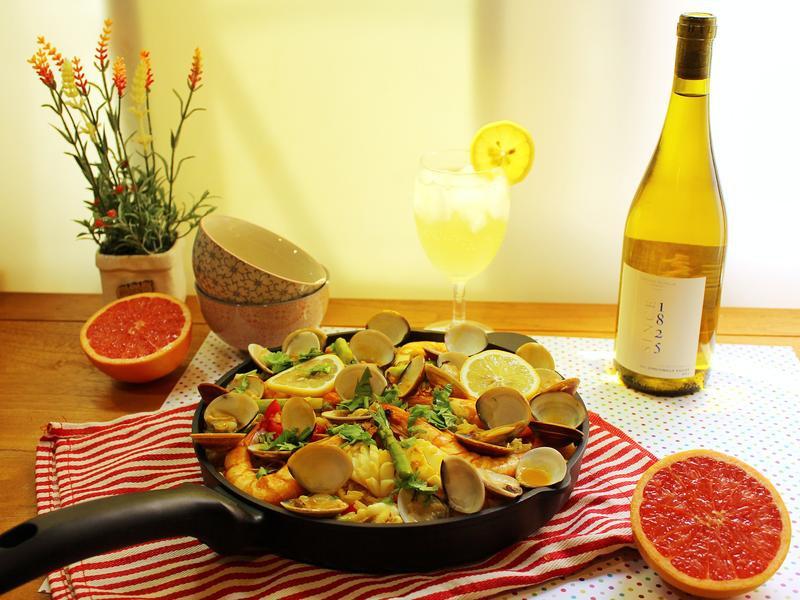 西班牙海鮮燉飯【黑松】