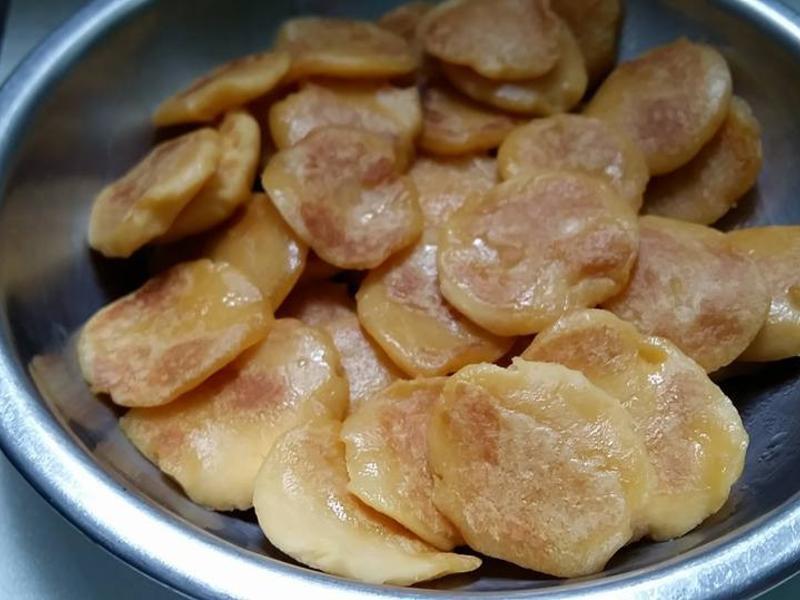 寶寶副食-小地瓜煎餅