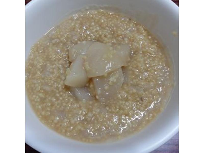 寶寶副食-黑糖蜜梨紅棗小米粥(14m)