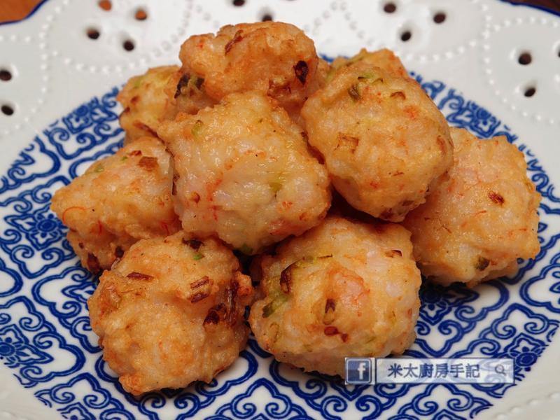 豆腐蒟蒻蝦丸