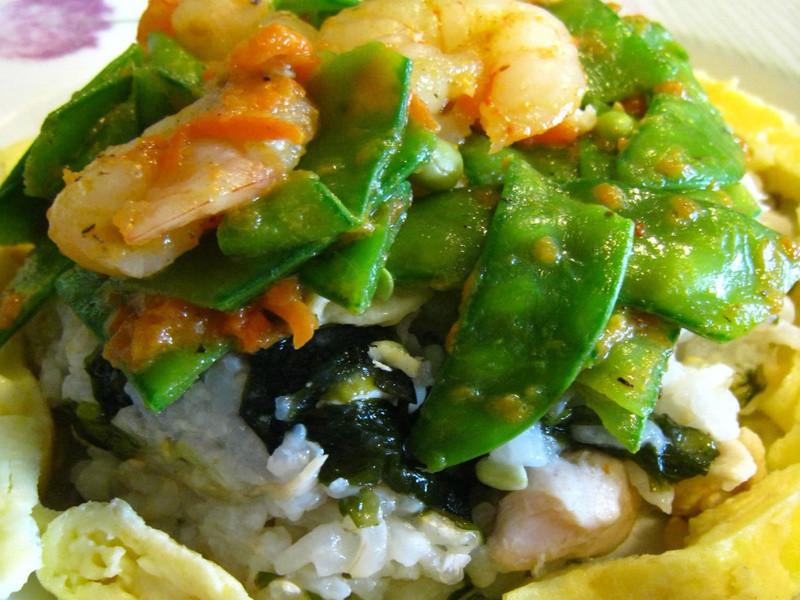 海陸養生糙米飯