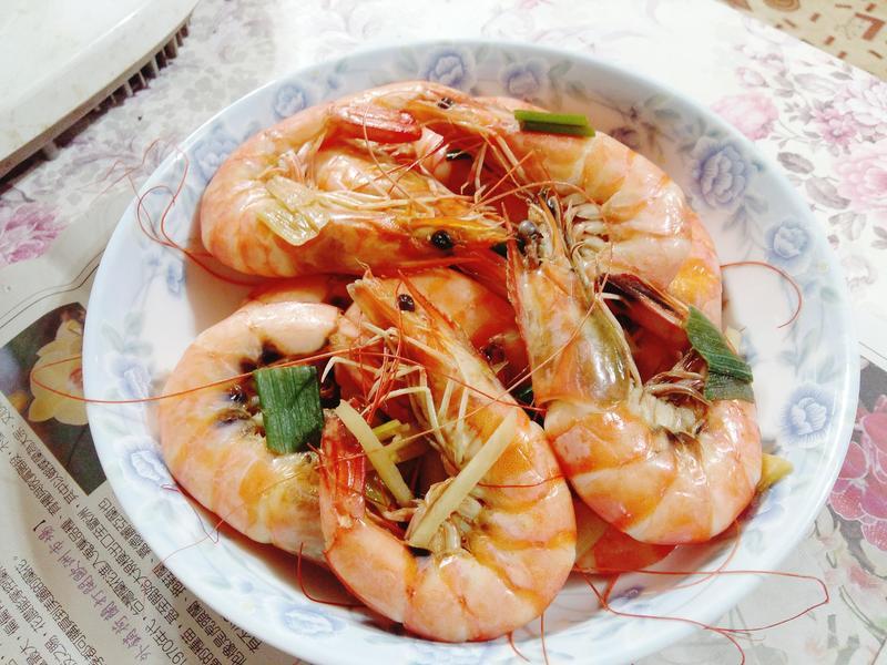 最單純的炒蝦