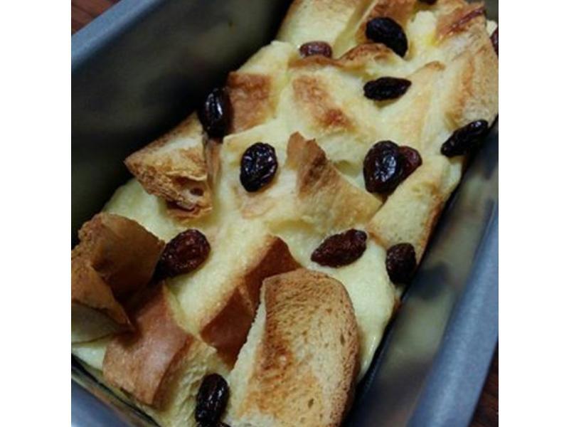 寶寶副食-烤焗麵包布丁