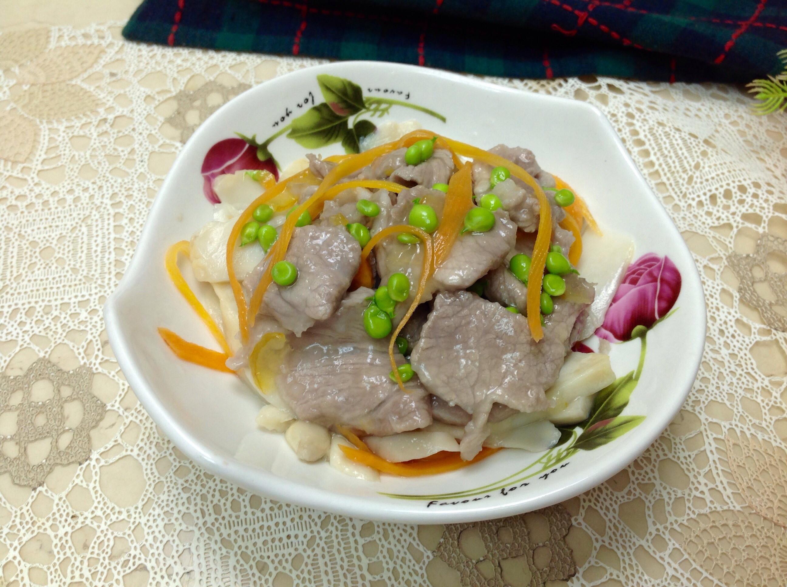 柚子醬梅花豬肉片