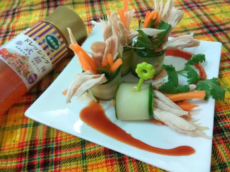 5分鐘上菜─低卡泰式酸甜沙拉捲-健康廚房