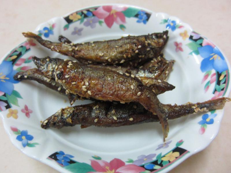 ♥我的手作料理♥ 照燒柳葉魚