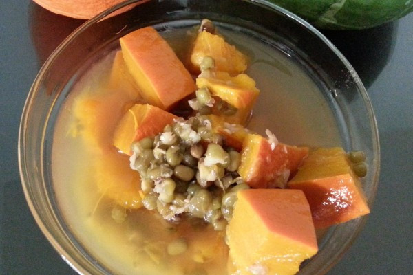 栗子南瓜綠豆湯
