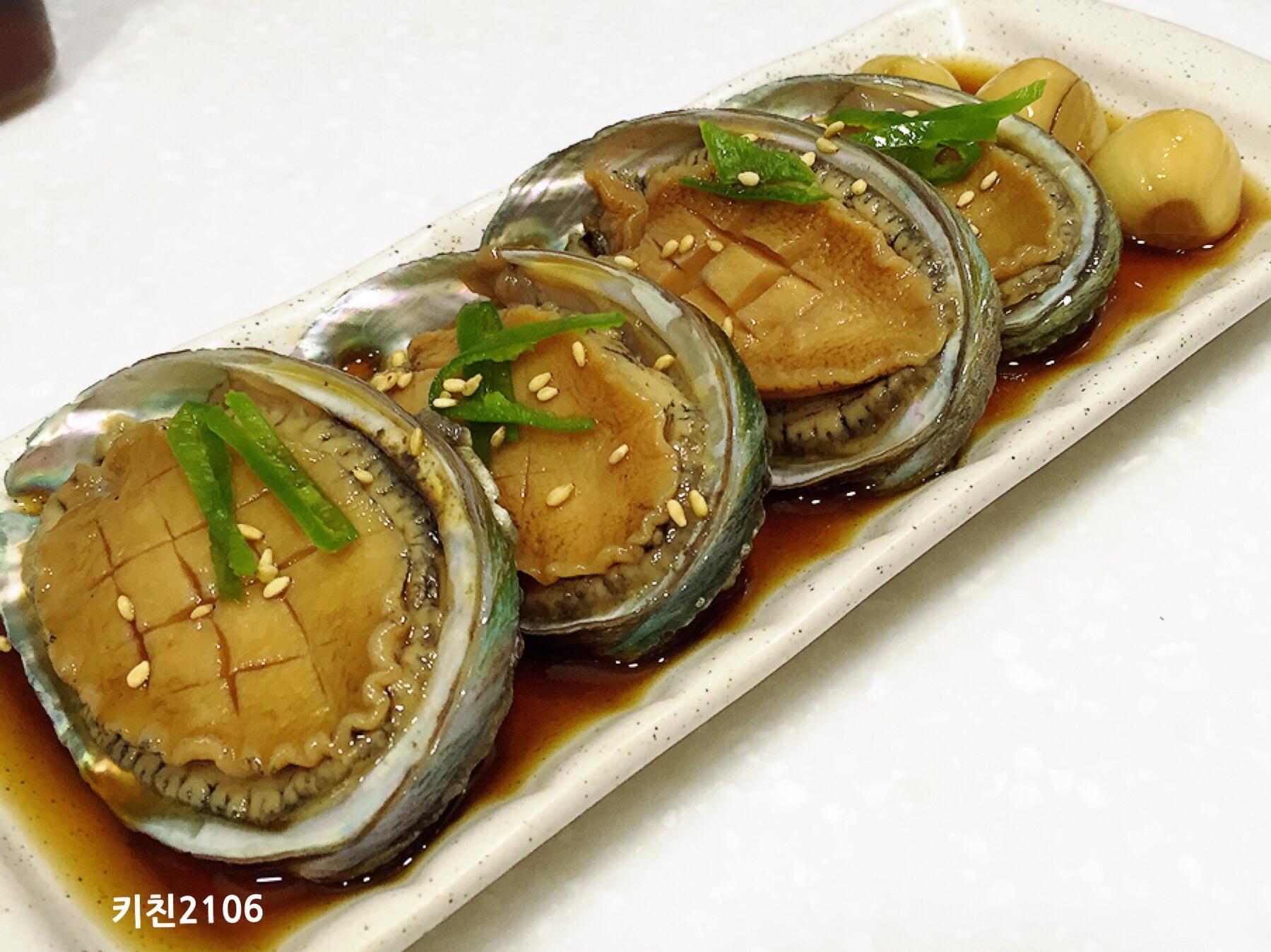 韓式醬醃鮑魚--전복장