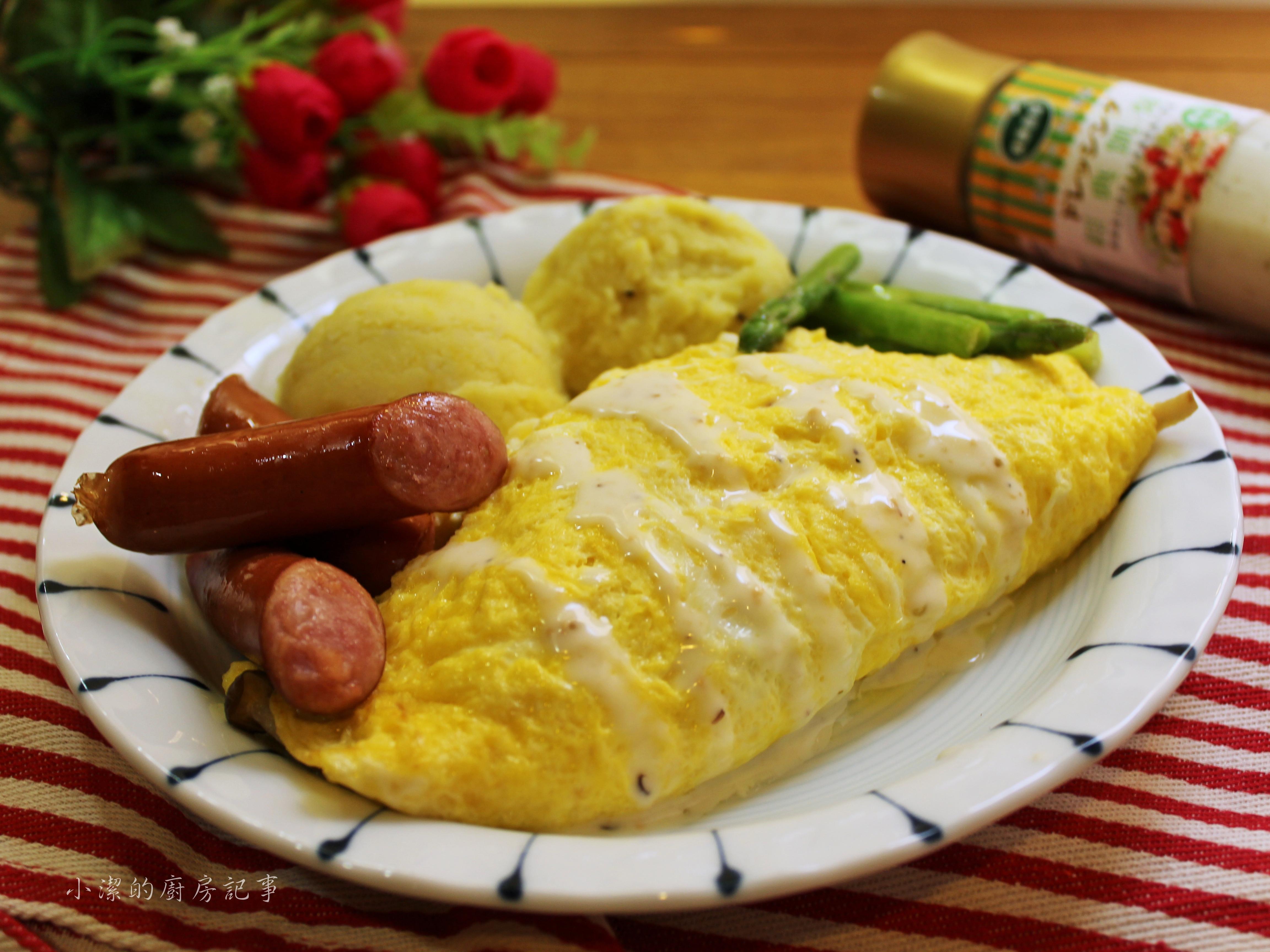 凱薩鮮菇歐姆蛋[健康廚房]