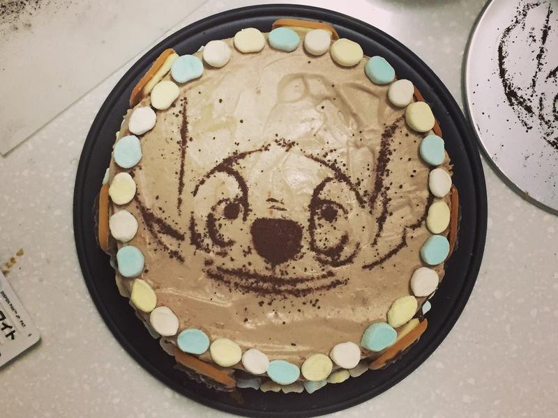 史迪奇巧克力布丁蛋糕 巧克力鮮奶油教學!