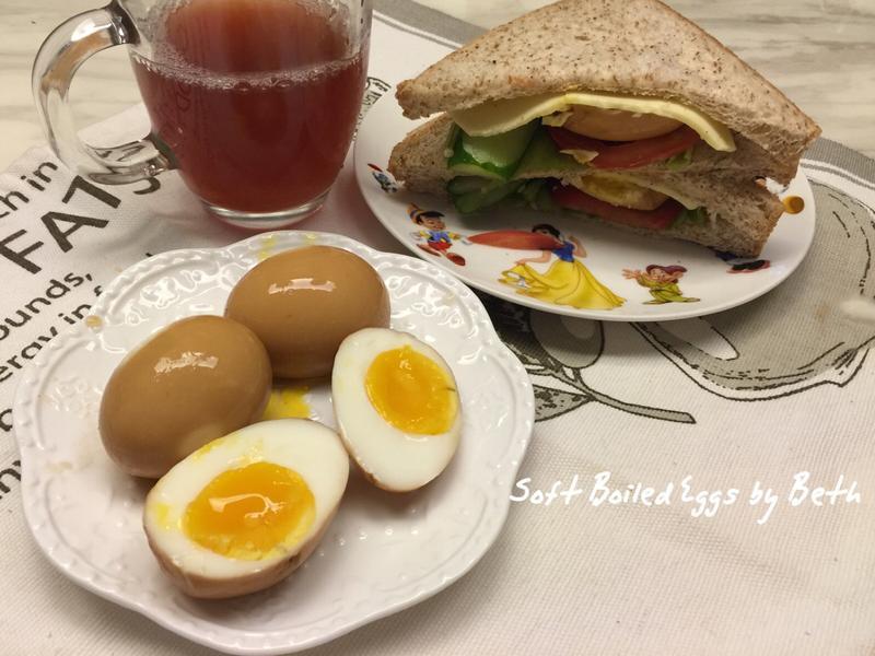 可樂溏心蛋/三明治 - 早餐