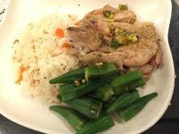 無煙料理~日式雞排飯