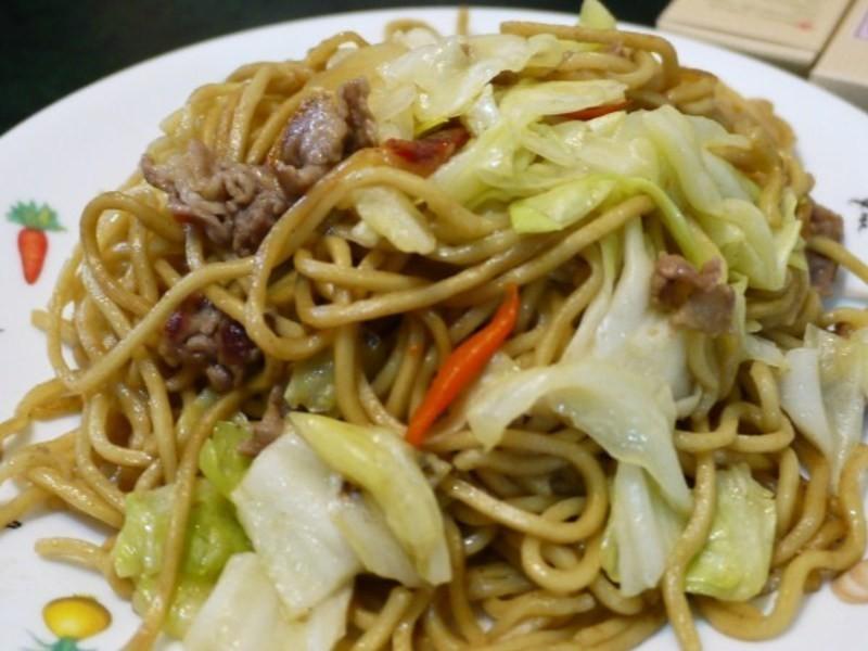 力力和風-日式醬汁炒麵(ソース焼きそば)