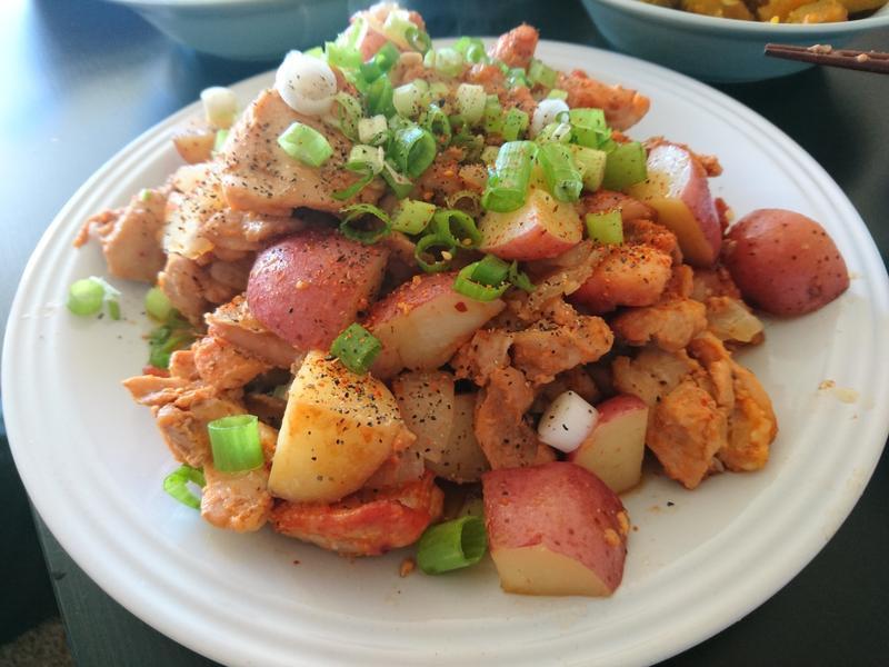 [快速料理]辣味增醬炒雞肉