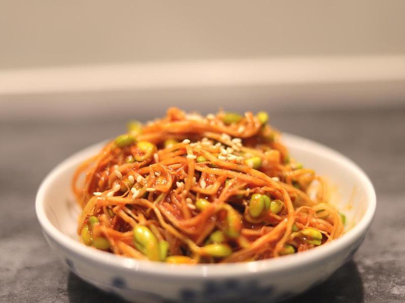 韓式涼拌黃豆芽-10分鐘上菜